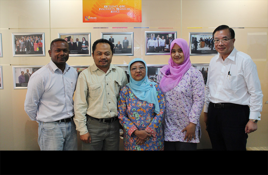 Educare International Consultancy (EIC) Visitors - YPS Visit